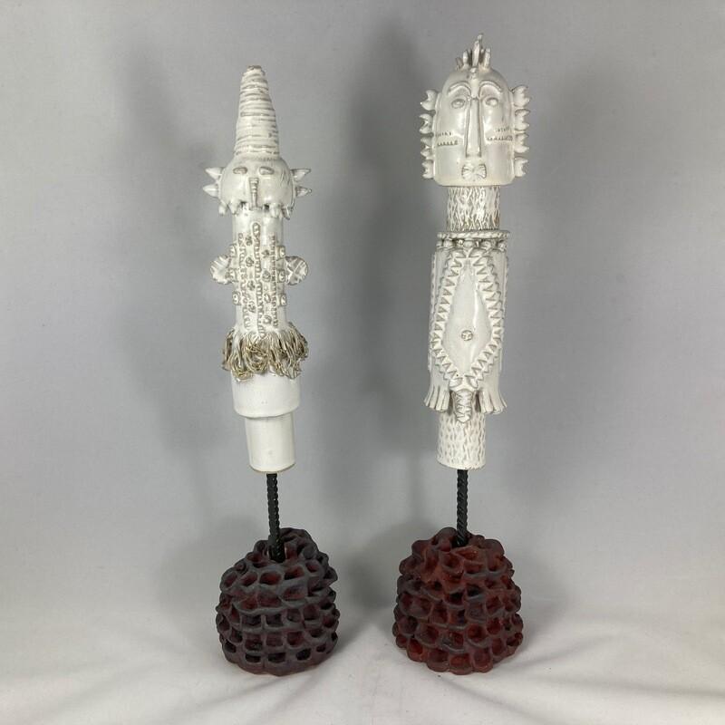 Monsieur et Madame statues