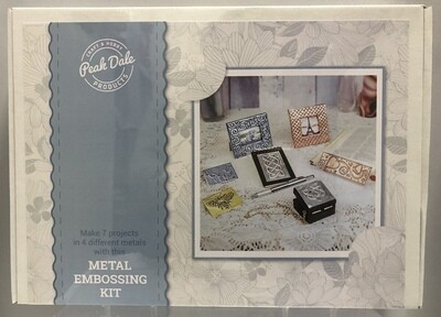 Metal Embossing Kit