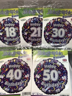 Significant Birthday Balloons