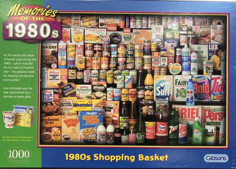 1980's Shopping Basket