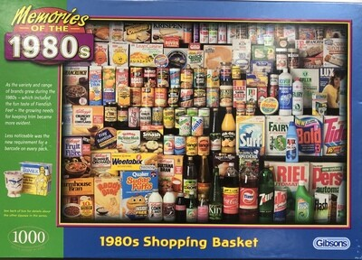 1980's Shopping Basket