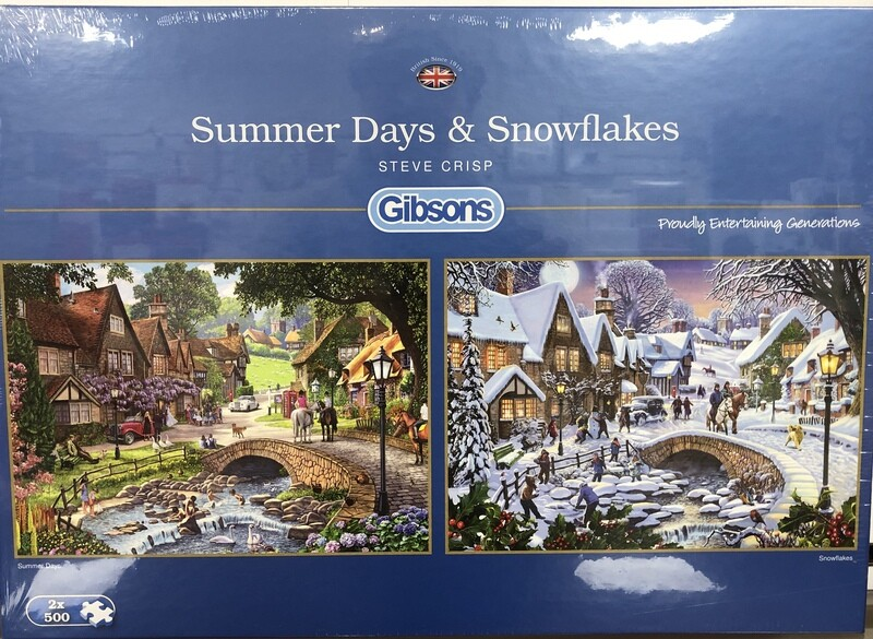 Summer Days & Snowflakes