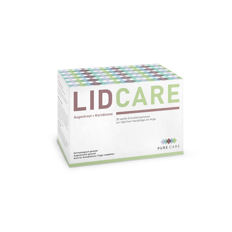 Lid Care - sanfte Pflegetücher für die Augenlider