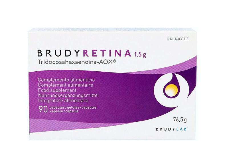 BrudyRetina 90 Kapseln - Netzhaut