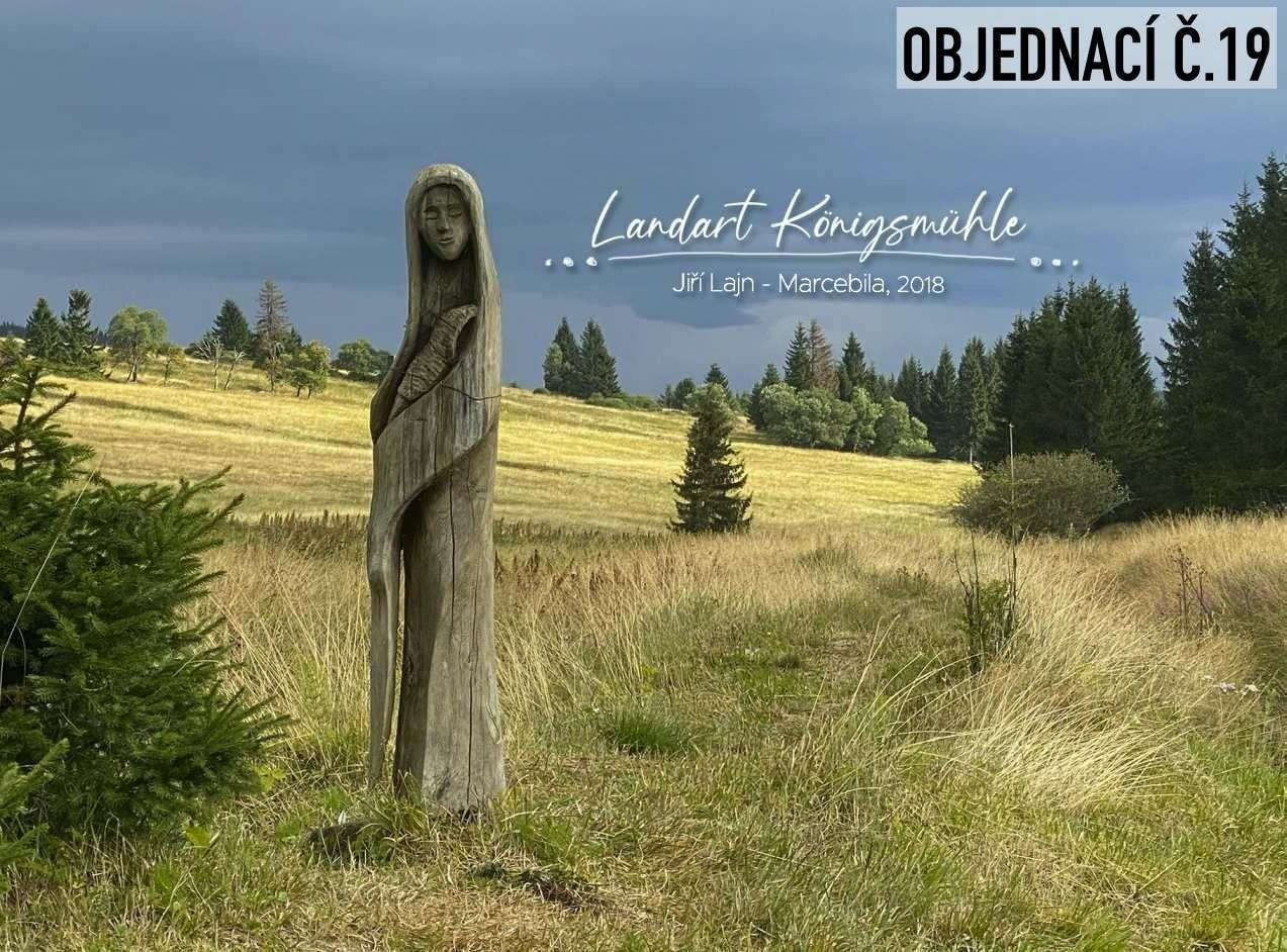 Landartové pohledy Königsmühle -  5 ks dle vlastního výběru