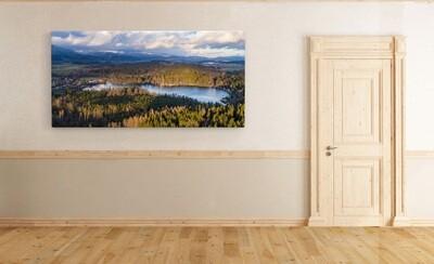 Krušné hory - podzim,  230 motivů, panorama, 100 x 50 cm - Stadur deska 5 mm
