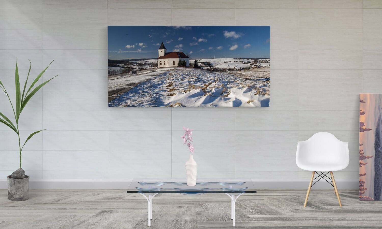 Krušné hory - ZIMA,  800 motivů, panorama, 200 x 100 cm - Stadur deska 10 mm