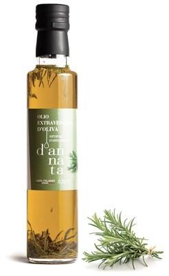 Olio extravergine di Oliva aromatizzato al rosmarino cl 25 . 100% Italiano