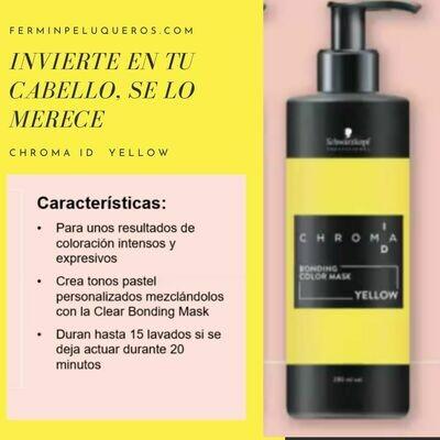 Schwarzkopf Chroma ID Mascarilla Bonding de color Intenso Yellow 280ml