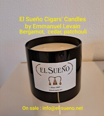 BLACK Scented candle 1.5 kg