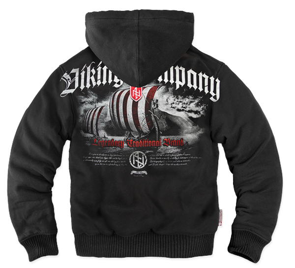 VIKING COMPANY ZIPPED SHEEPSKIN HOODIE M / BLACK