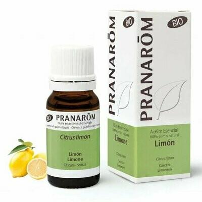 PRANAROM ACEITE ESENCIAL LIMON BIO 10 ml