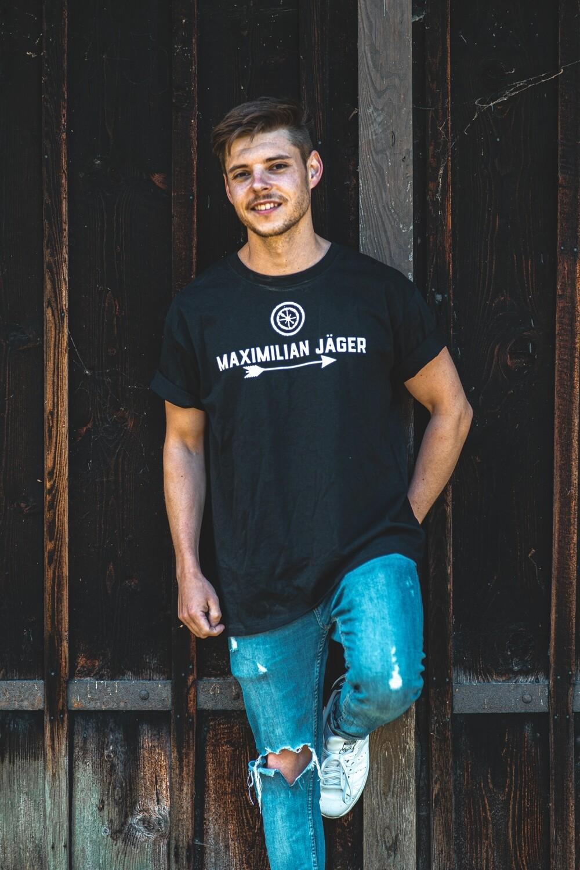 T-Shirt schwarz unisex