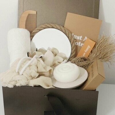 Zero Waste Bathroom Set Eco Friendly Gift Box