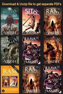 Amish Tripathi Books Bundle