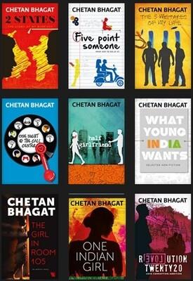 Chetan Bhagat Books Bundle