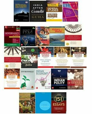 UPSC Mains Books Bundle