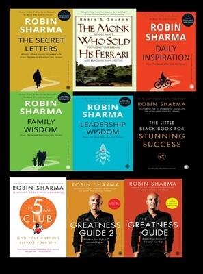 Robin Sharma Books Bundle