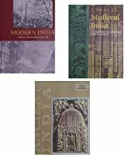 [3 books in 1] Old NCERT History Books - Ancient India, Medieval India and Modern India for UPSC