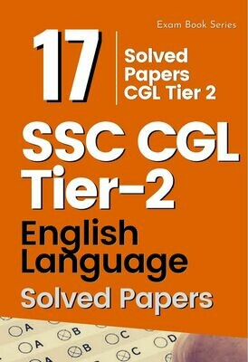 SSC CGL Tier 2 English Solved Previous Papers