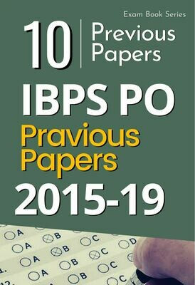 IBPS Bank PO Solved Previous Papers- Paper 1