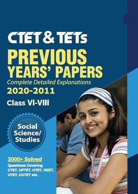 CTET Previous Papers Social Studies Level 2