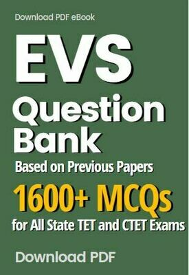 TET EVS Questions Previous Papers Based