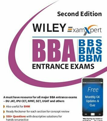 BBA Entrance Exam Guide Wiley
