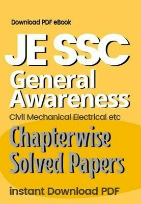 SSC JE General Awareness Questions Previous Paper Based