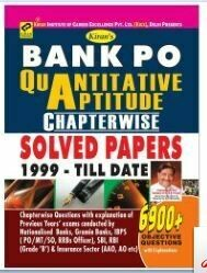 IBPS Bank PO Quantitative Aptitude Chapterwise Solved Papers kiran