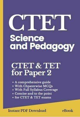Science and pedagogy book cTET
