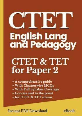English pedagogy book for cTET