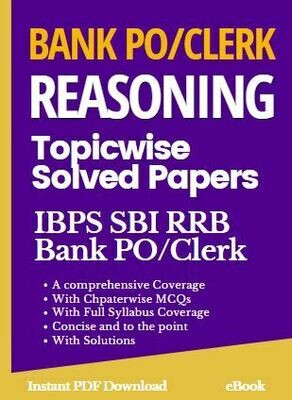 Bank PO Clerk Reasoning Book for IBPS SBI RRB RBI Nabard