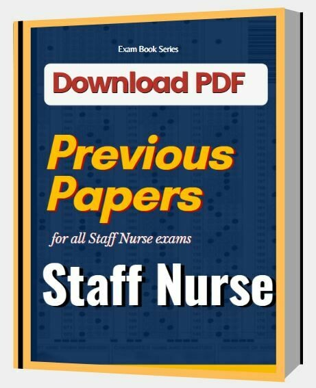 Staff Nurse Previous Papers