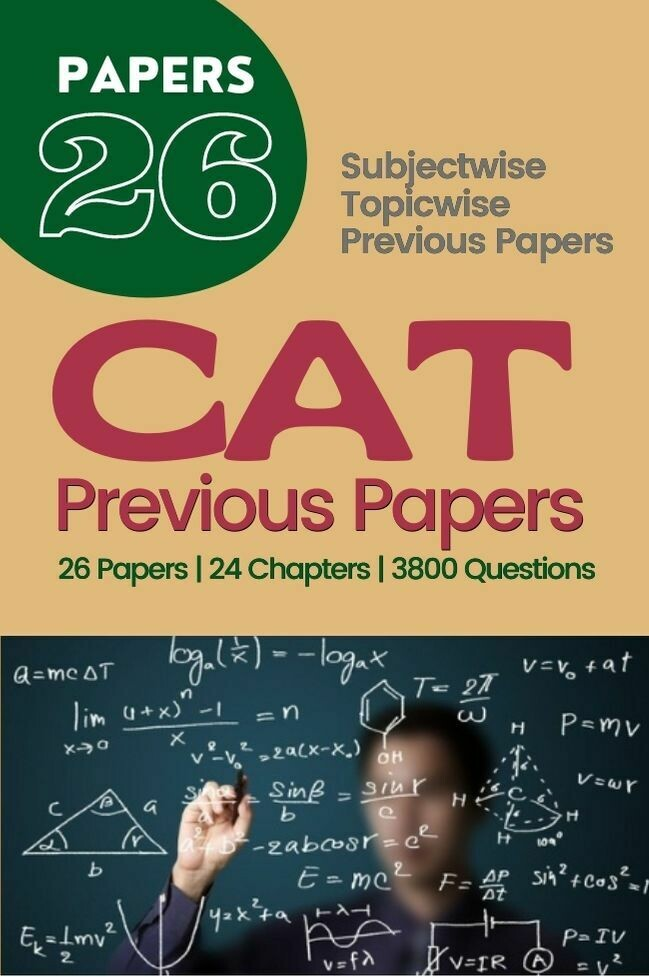 CAT Previous Papers Topicwise