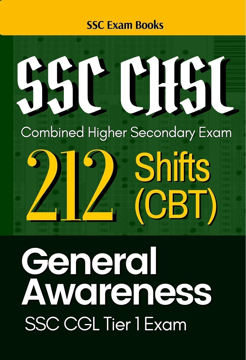 SSC CHSL Previous Papers General Awareness All Shifts