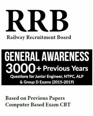 RRB General Awareness previous year Questions