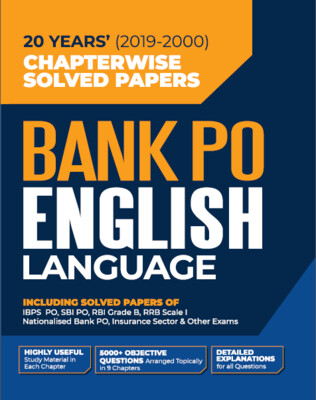 Bank Po English Previous Year Question Papers Chapterwise Solved