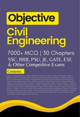 Objective Civil Engineering Book