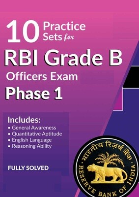 RBI Grade B Previous year papers and Practice Sets