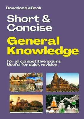 Concise General Knowledge Book