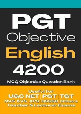 PGT English Book