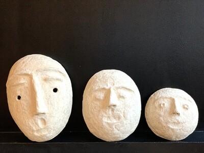 Masque papier mâché S