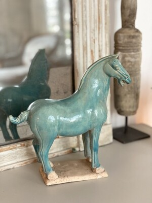 Cheval tang turquoise
