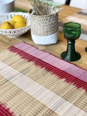 Set de table - Lot de 2 - Rouge