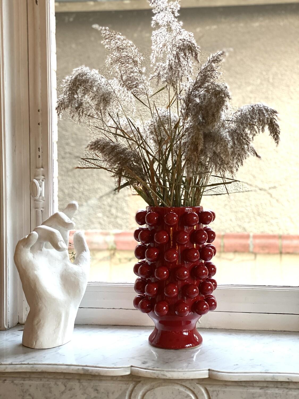 Vase Grappa Rouge L