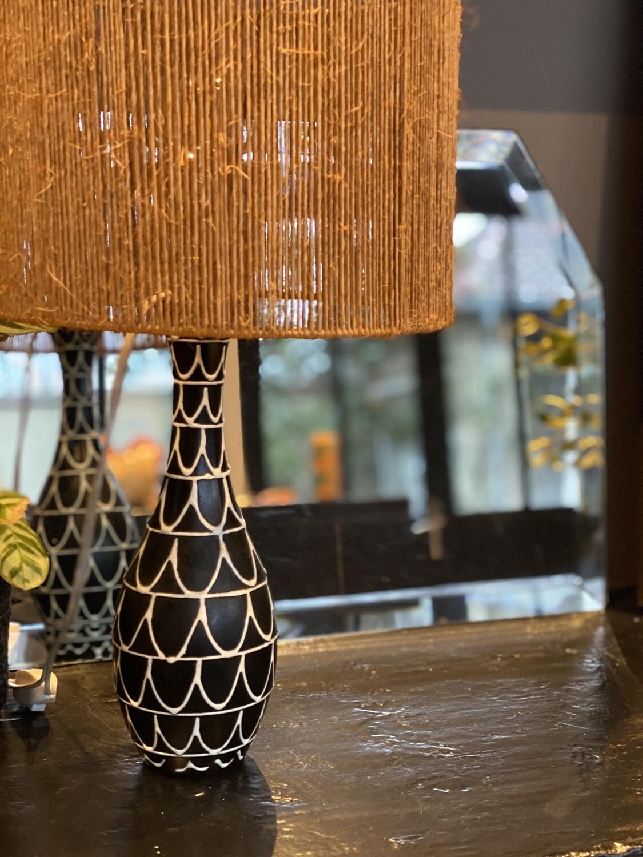Lampe céramique vintage
