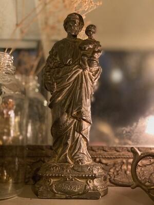 Statuette Joseph et l'enfant Jésus