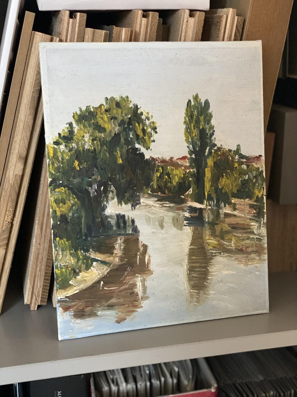 Tableau bords de la Garonne