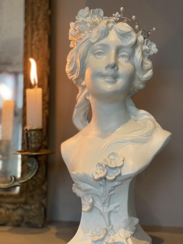 Louise - Buste femme art nouveau